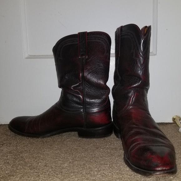 21b3dafdf79 Lucchese Kangaroo Leather Boots